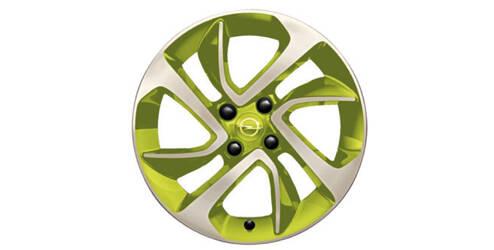 Jante alliage 16 pouces, design «Boomerang»