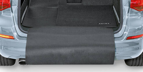 Tapis d'aire de chargement - noir