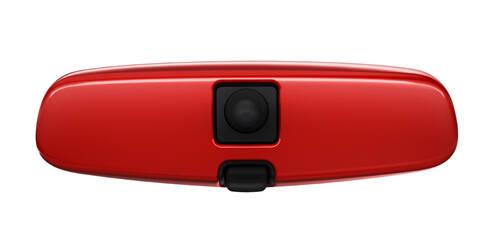 Habillage pour rétroviseur intérieur, Rouge ''Red 'n' Roll''