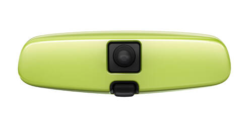 Habillage pour rétroviseur intérieur, Vert ''Greenspotting''