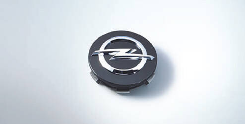 Naafkap, rond, geborsteld aluminium