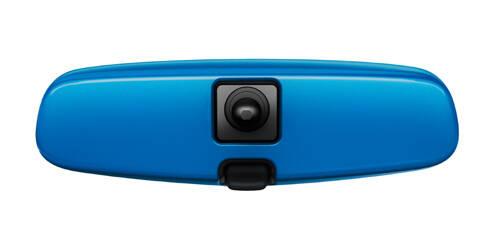 Habillage pour rétroviseur intérieur, Bleu ''Let it Blue''