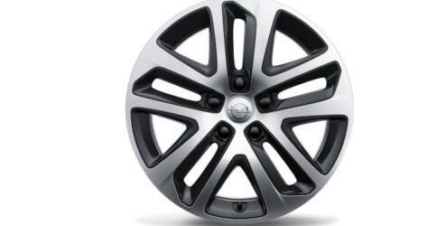 Design Steel Wheel Cover 17 inch, Bi-Color OPEL - 13472459