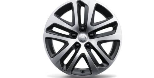 Design Steel Wheel Cover 17 inch, Bi-Color