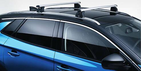 Barres de toit aluminium pour véhicules avec rails de toit OPEL - 13474370