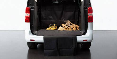 Tapis de coffre, pour véhicules avec 3 rangées de sièges (2/3 à 1/3) - L2 OPEL - 1614086580
