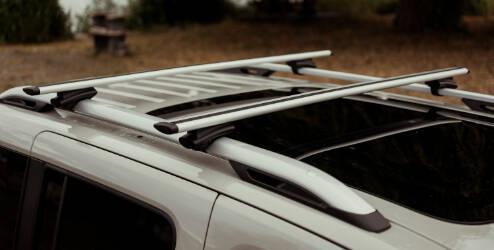 Aluminium dakdragers met dakrails