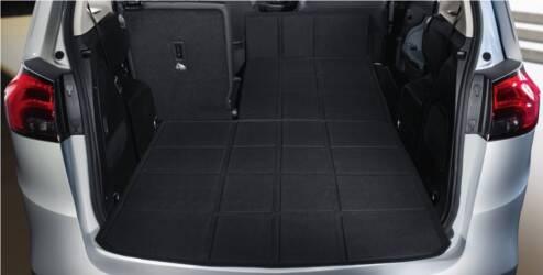 FlexCover® mat voor de bagageruimte - Black