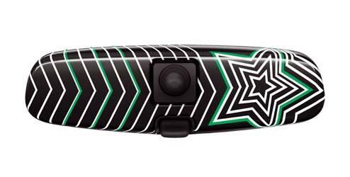 Coque de rétroviseur intérieur, design «Stars & Stripes»