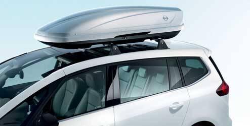Coffre de toit Opel, blanc OPEL - 39050208