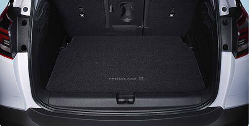 Beschermschaal (stof) voor de bagageruimte