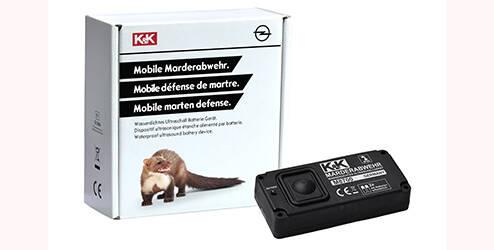Set de protection anti-martres mobile