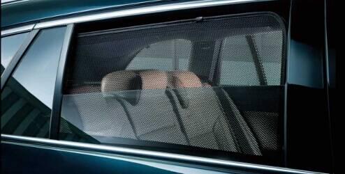 Privacyschermen voor Hatchback, achterste zijruiten
