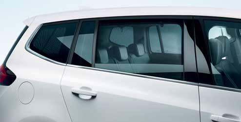 Pare-soleil pour vitres arrière OPEL - 95513920