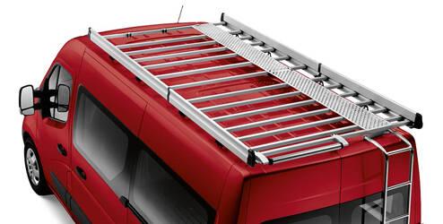 Passerelle pour galerie de toit, acier, noir - L1