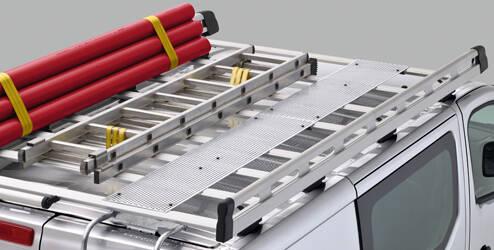 Passerelle pour galerie de toit, aluminium - L1