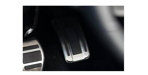 Revêtement de pédale d'accélération, aluminium