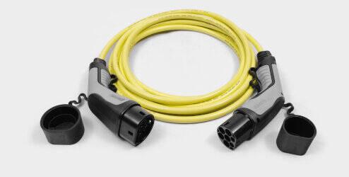 Câble de chargement mode 3 (11 kW, triphasé), longueur: 6 m