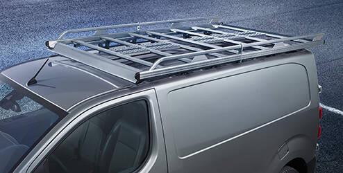 Galerie de toit, acier - L1
