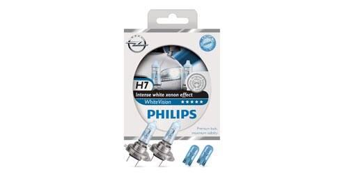 Philips WhiteVision, ampoules halogènes H7