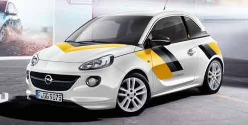 Kit décor extérieur, « Opel Motorsport »