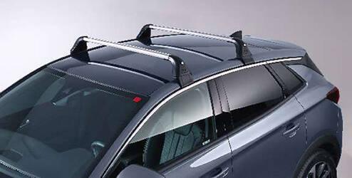 Barres de toit aluminium pour véhicules sans rails de toit