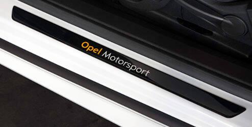 Protections pour seuils de portes - « Opel Motorsport»