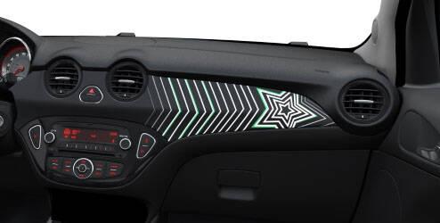 Kit intérieur, design « Stars & Stripes»