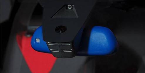 Coque de rétroviseur intérieur - Voltaic Blue